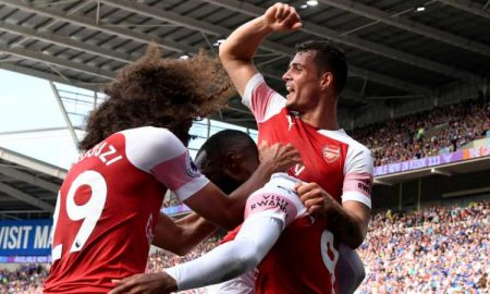 Arsenal 2:3 away win against Cardiff City