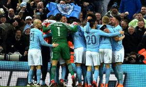 Manchester City won 2017/18 EFL Cup