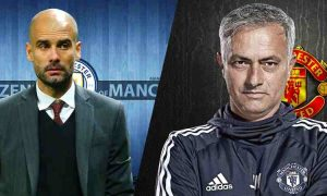 Pep Guardiola vs Jose Mourinho